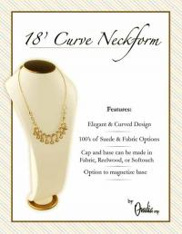 18 inch Curved Neckform