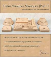 Fabric Jewelry Showcase Display Part 2