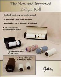 Jewelry Bangle Roll Case