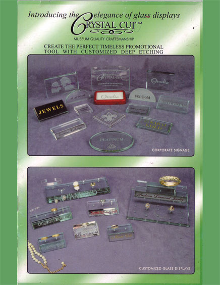 Glass Plaques Catalog Cover