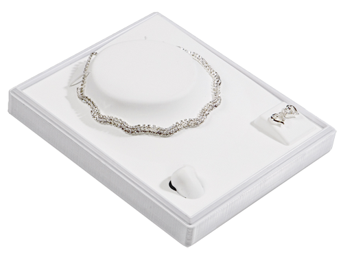 6309 :: Carefree� 1/2 Size Combo Jewelry Tray